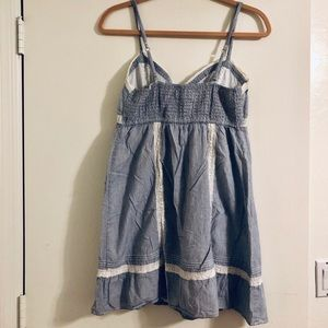 Hollister Dresses - Hollister Blue White Striped Dress
